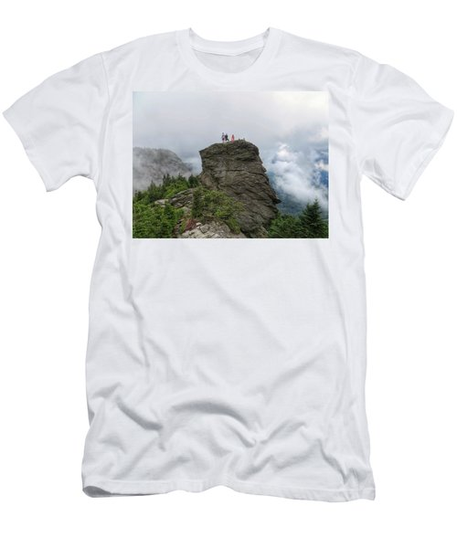 Grandfather Mountain Hikers Men's T-Shirt (Athletic Fit)