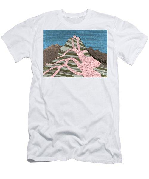 Granite Intrusion Men's T-Shirt (Athletic Fit)