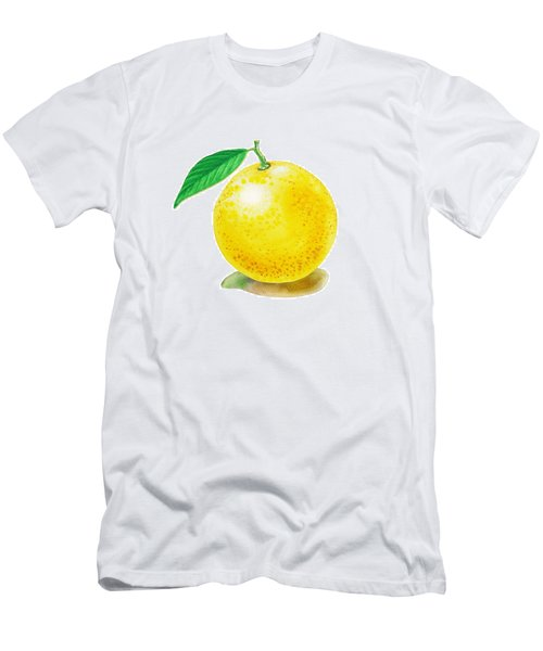 Grapefruit Men's T-Shirt (Athletic Fit)