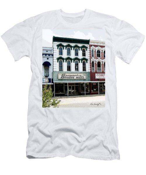Grapevine Antiques Men's T-Shirt (Athletic Fit)