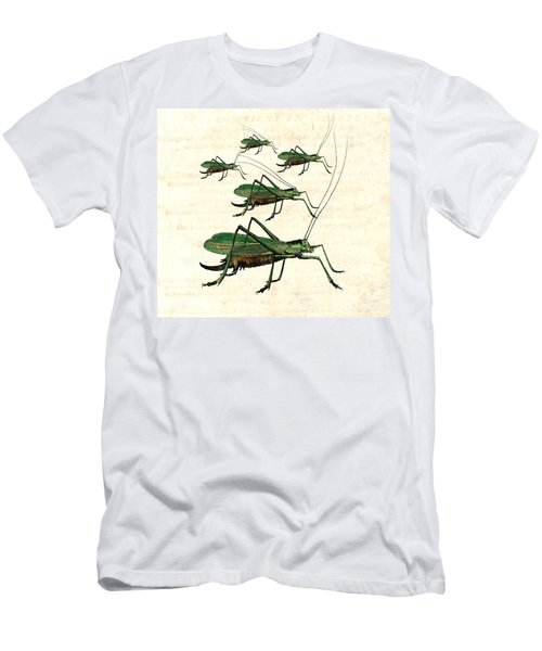 Grasshopper Parade 2 Men's T-Shirt (Athletic Fit)