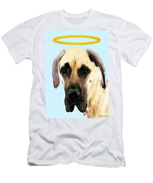 Great Dane Art - I Didn't Do It Men's T-Shirt (Athletic Fit)