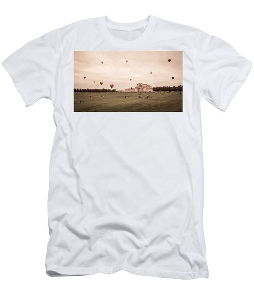 Great Forest Park Balloon Race Men's T-Shirt (Athletic Fit)