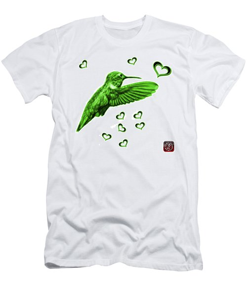 Green Hummingbird - 2055 F S M Men's T-Shirt (Athletic Fit)