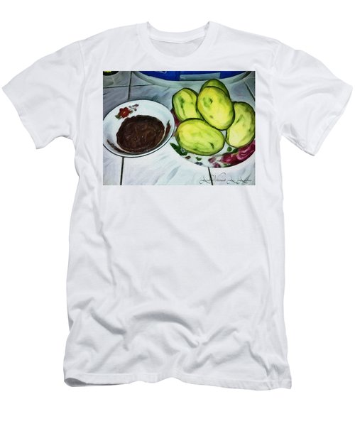 Green Mangoes Men's T-Shirt (Athletic Fit)
