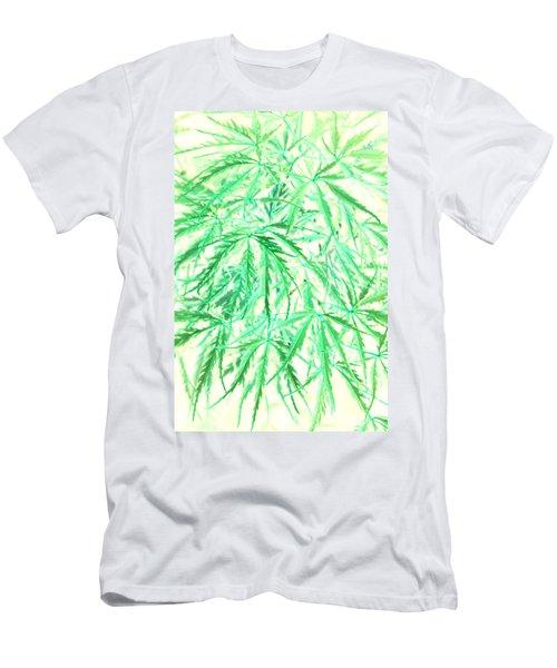 Men's T-Shirt (Slim Fit) featuring the photograph Green Splender by Jamie Lynn
