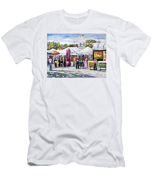Greenwich Art Fair Men's T-Shirt (Athletic Fit)