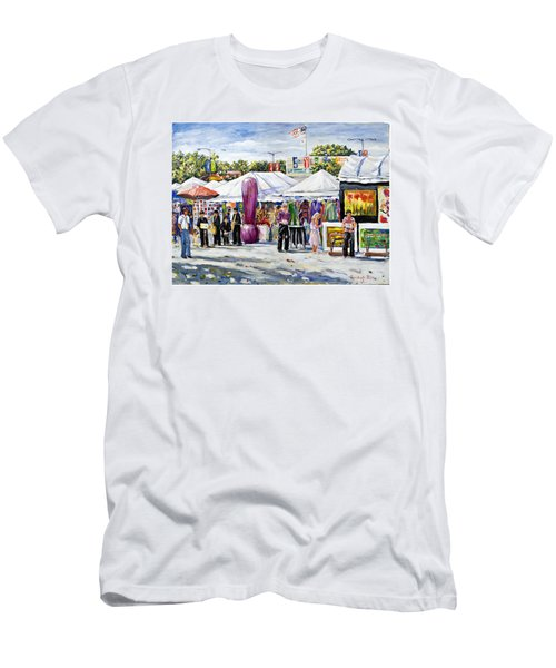 Greenwich Art Fair Men's T-Shirt (Athletic Fit)
