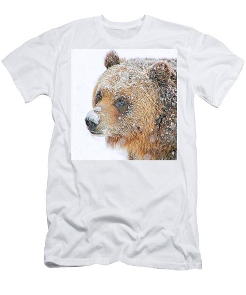 Grizzly Frost Men's T-Shirt (Athletic Fit)