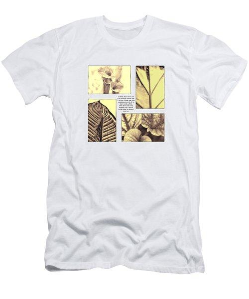 Men's T-Shirt (Slim Fit) featuring the photograph Growth by John Hansen