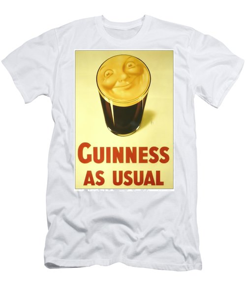 Guinness As Usual Men's T-Shirt (Athletic Fit)