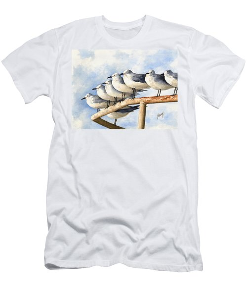 Gulls Men's T-Shirt (Athletic Fit)