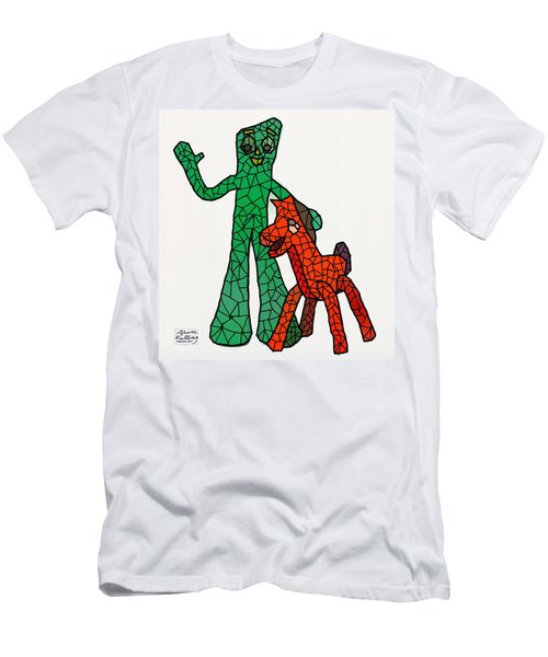 Gumby And Pokey Not For Sale Men's T-Shirt (Athletic Fit)
