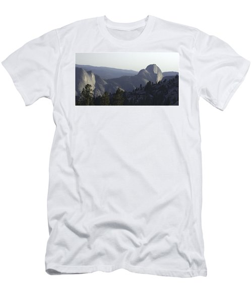 Half Dome From Olmsted Pt Men's T-Shirt (Athletic Fit)
