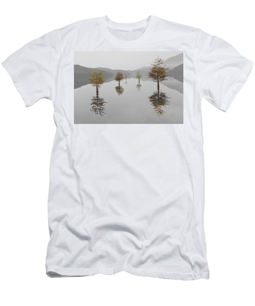 Men's T-Shirt (Athletic Fit) featuring the photograph Hanging Garden by Debra and Dave Vanderlaan