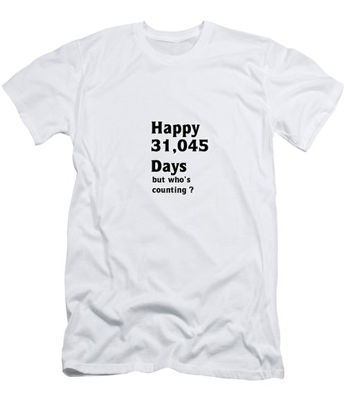 Happy 85th Birthday Men's T-Shirt (Athletic Fit)