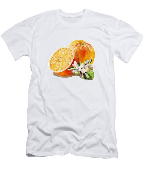 Happy Orange Men's T-Shirt (Athletic Fit)