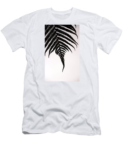 Hapu'u Frond Leaf Silhouette Men's T-Shirt (Athletic Fit)
