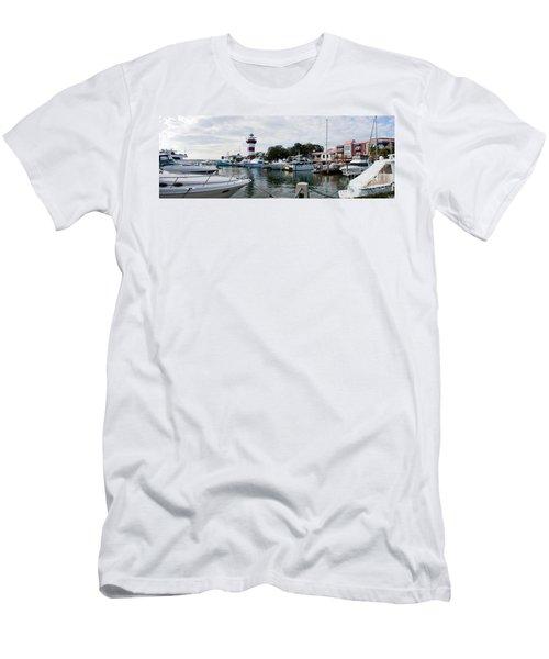Harbourtown Harbor Men's T-Shirt (Athletic Fit)