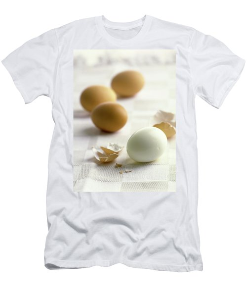 Hard-boiled Eggs Men's T-Shirt (Athletic Fit)