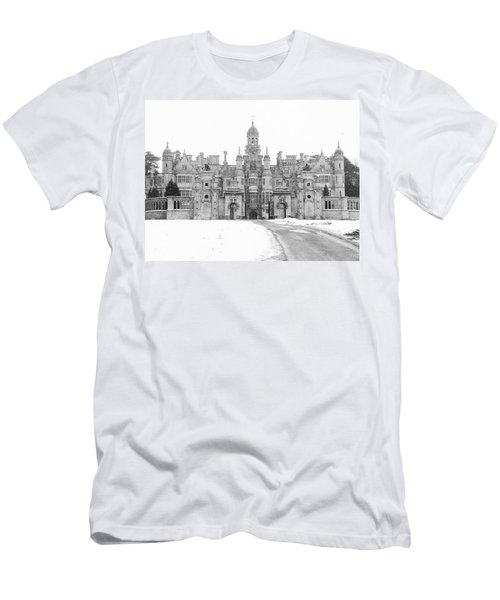 Harlaxton Manor Men's T-Shirt (Slim Fit) by Tiffany Erdman