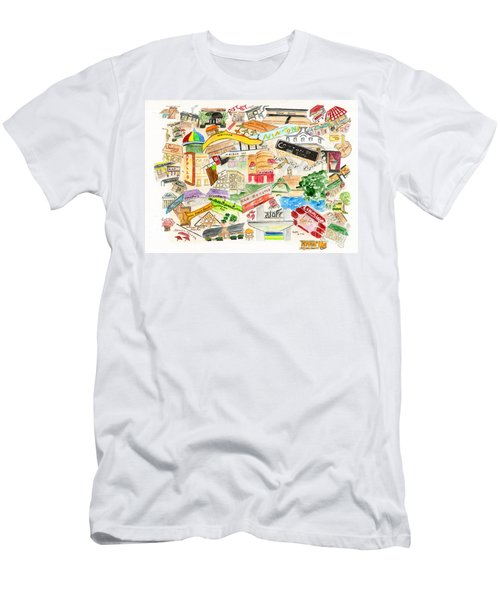 Harlem Collage Men's T-Shirt (Slim Fit) by AFineLyne