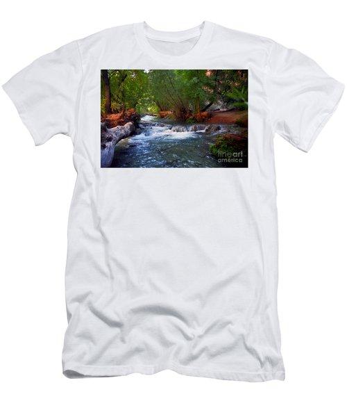 Havasu Creek Men's T-Shirt (Slim Fit) by Kathy McClure