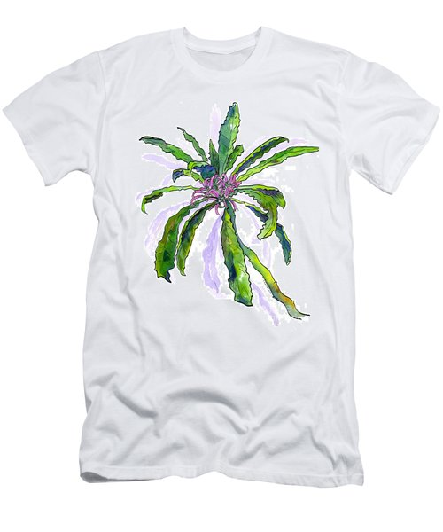 Hawaiian Haha Plant Cyanea Stictophylla Men's T-Shirt (Athletic Fit)
