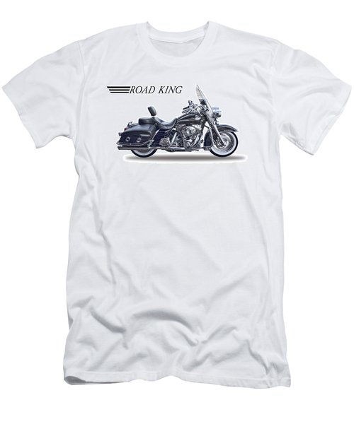 H D Road King Men's T-Shirt (Slim Fit) by Daniel Hagerman