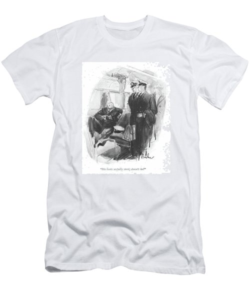He Looks Awfully Tired Men's T-Shirt (Athletic Fit)