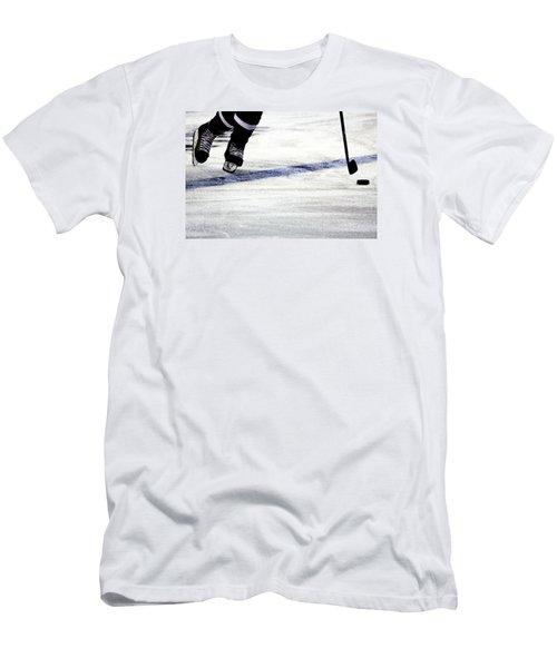 He Skates Men's T-Shirt (Slim Fit) by Karol Livote