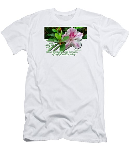 Men's T-Shirt (Slim Fit) featuring the photograph Hear And Receive by Larry Bishop