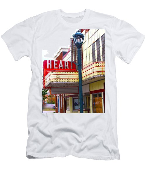 Heart Theatre Effingham Illinois  Men's T-Shirt (Athletic Fit)