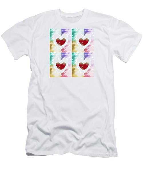 Heartful Men's T-Shirt (Athletic Fit)