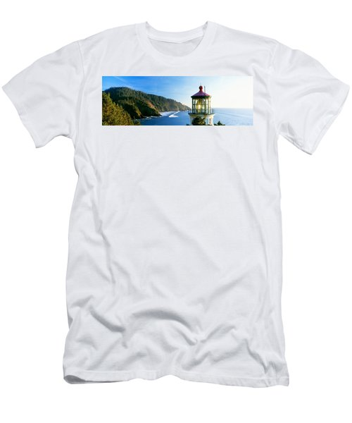 Heceta Head Lighthouse, Florence Men's T-Shirt (Athletic Fit)