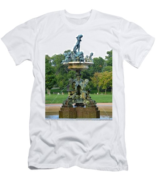 Heffelfinger Fountain Men's T-Shirt (Athletic Fit)