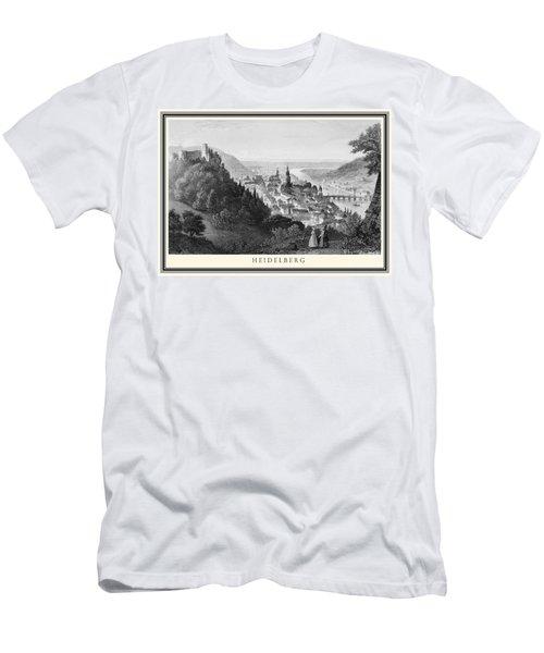 Heidelberg Etching Men's T-Shirt (Athletic Fit)
