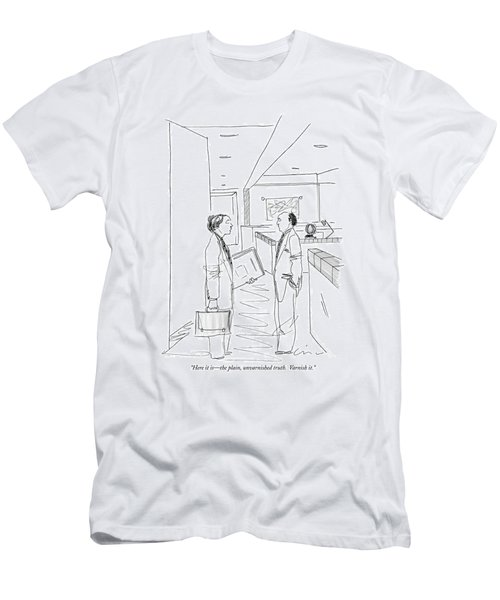 Here It Is - The Plain Men's T-Shirt (Athletic Fit)