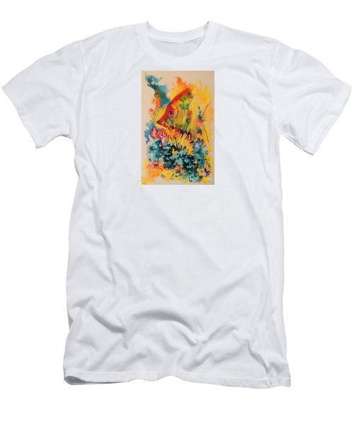 Hiding Amongst The Coral Men's T-Shirt (Athletic Fit)