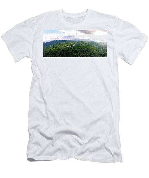 High Country 1 In Wnc Men's T-Shirt (Athletic Fit)