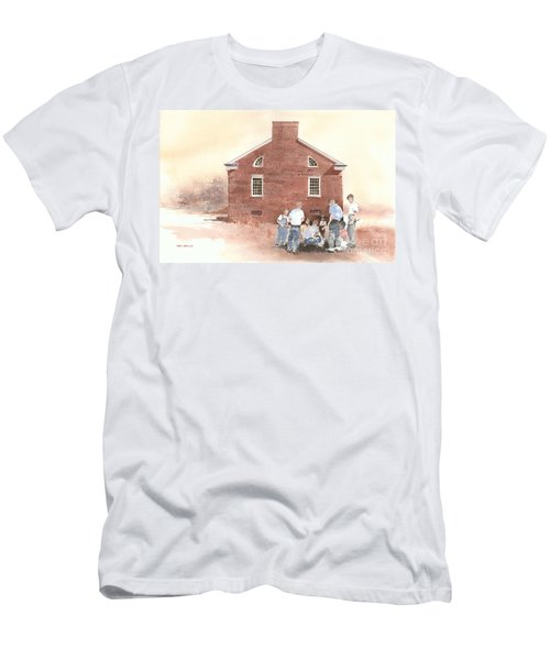 High Noon Shootout At The Tidal School  Men's T-Shirt (Athletic Fit)