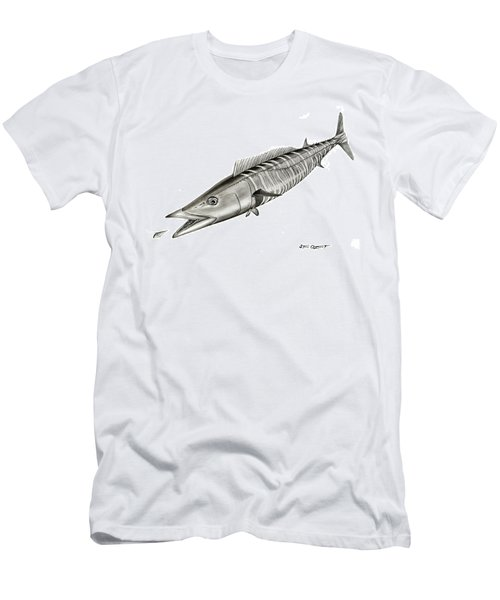 High Speed Wahoo Men's T-Shirt (Athletic Fit)