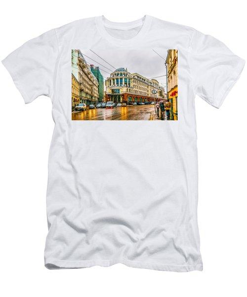 Higher School Of Economics Men's T-Shirt (Athletic Fit)