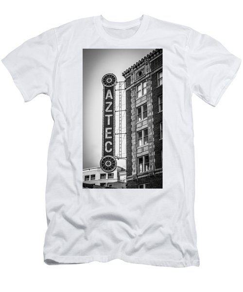 Historic Aztec Theater Men's T-Shirt (Athletic Fit)