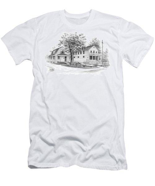 Historic Jaite Mill - Cuyahoga Valley National Park Men's T-Shirt (Athletic Fit)