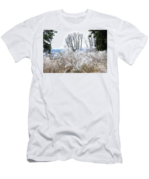 Hoarfrost Watercolor Men's T-Shirt (Athletic Fit)
