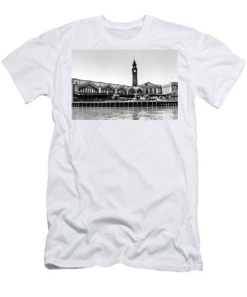 Hoboken Terminal Tower Men's T-Shirt (Athletic Fit)