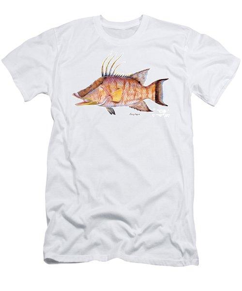 Hog Fish Men's T-Shirt (Athletic Fit)