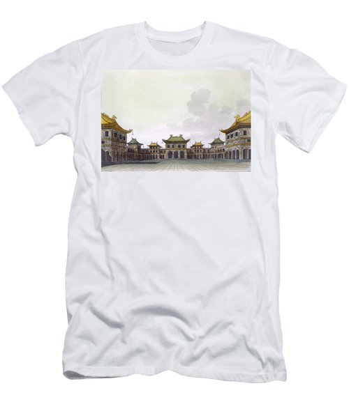 Home Of A Rich Individual In Peking Men's T-Shirt (Athletic Fit)