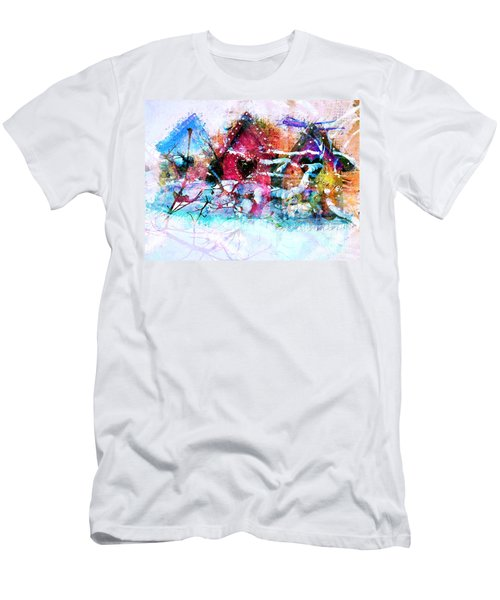 Home Through All Seasons Men's T-Shirt (Athletic Fit)